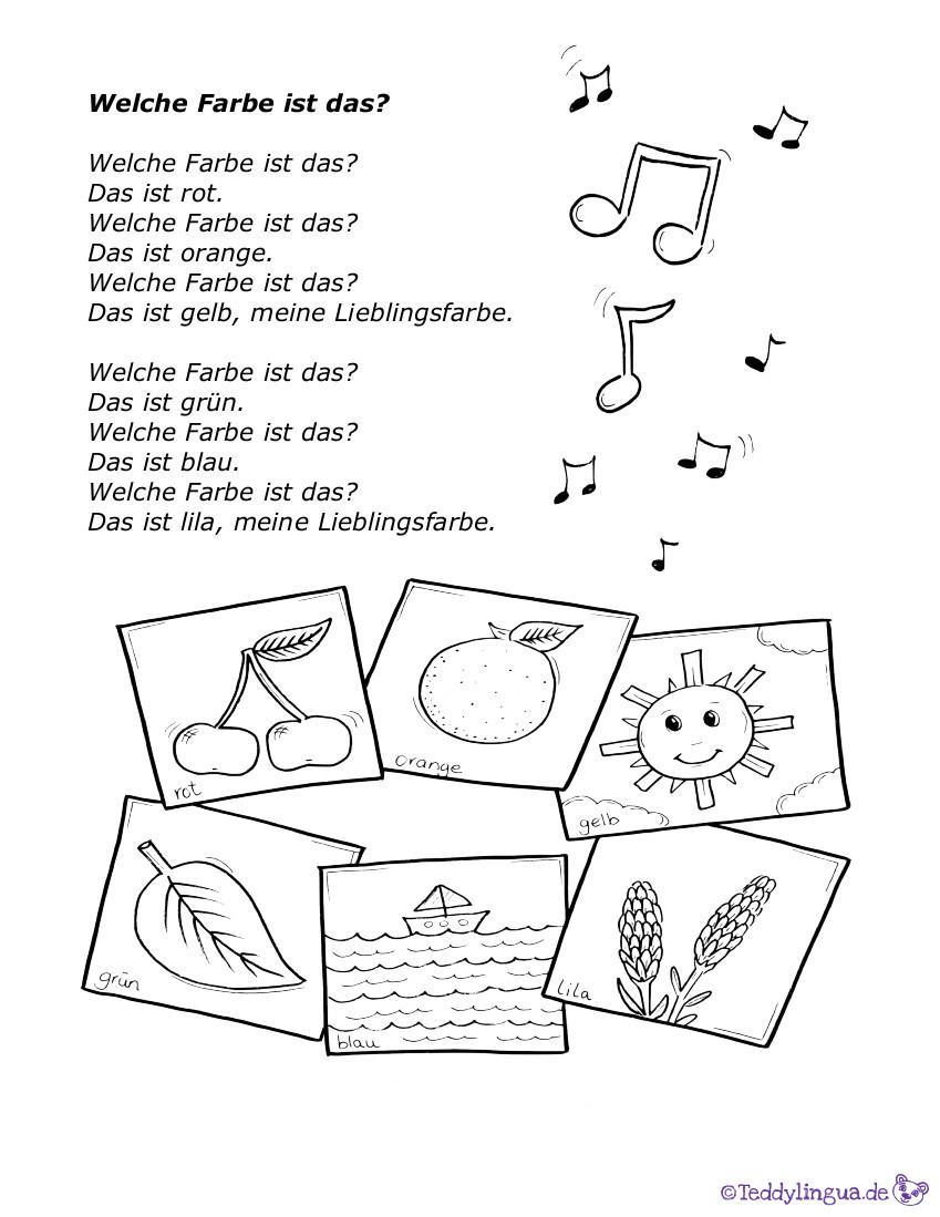 Regenbogen lied kinder text