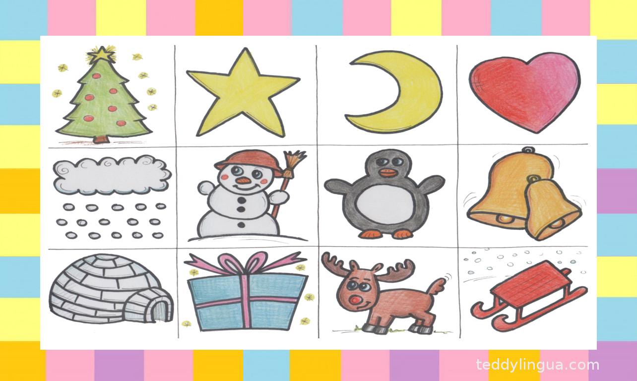 Lotto Weihnachten.Teddylingua Weihnachten Lotto Teddylingua